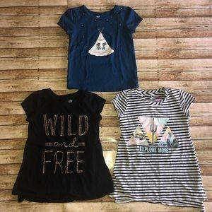 Epic Threads Bundle Of 3 Short Sleeve Shirts S